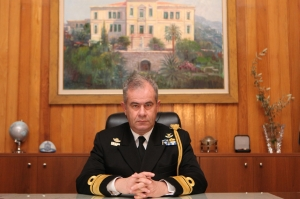 Rear Admiral Georgios Kampourakis HN