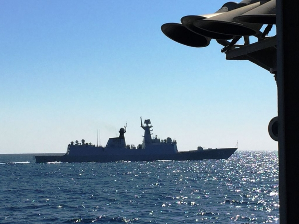 BILATERAL COOPERATION BETWEEN THE HELLENIC AND THE CHINESE NAVY