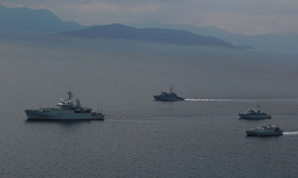 Passing Exercise of the Hellenic Navy Units with Standing NΑΤΟ Mine Countermeasures Group 2 (SNMCMG-2)