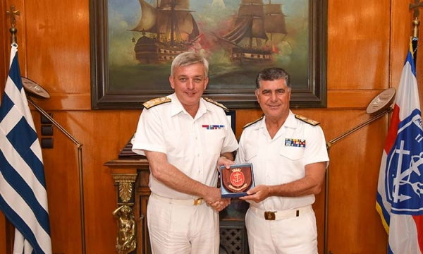 Official Visit of the First Sea Lord Admiral Sir Philip Jones of the Royal Navy to Greece