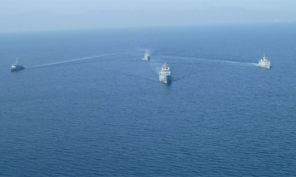 Cooperation of the Hellenic Navy with SNMG2 and SNMCMG2
