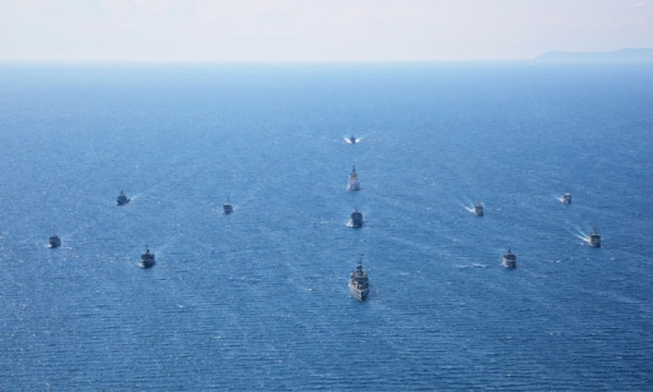 "Completion of Exercise ""ARIADNE 17"""