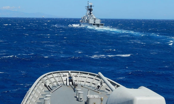 Passing Exercise of Hellenic Navy and Italian Navy Units
