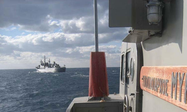 Passing Exercise of Hellenic Navy and Egyptian Navy Units