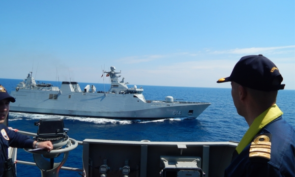 Cooperation of the Hellenic Navy with Royal Moroccan Navy