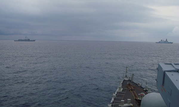 Passing Exercise of Hellenic Navy and SNMG2 Units
