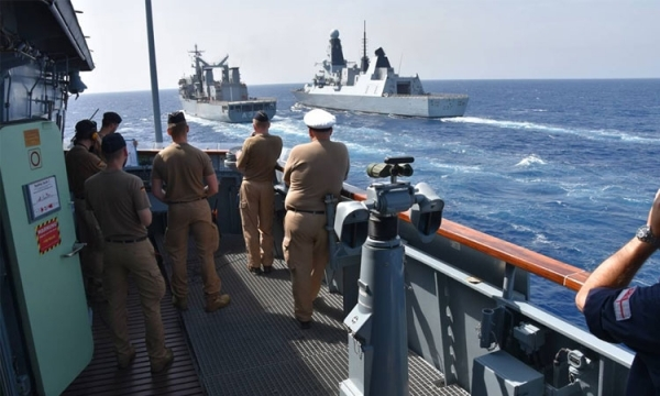 Participation of the Hellenic Navy in SNMG2
