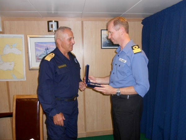 Bilateral Cooperation between the Hellenic and the Royal Navy