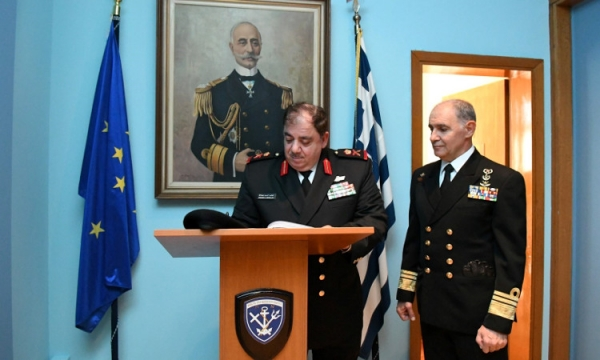 Official Visit of the Chief of the Kuwaiti Navy to Greece