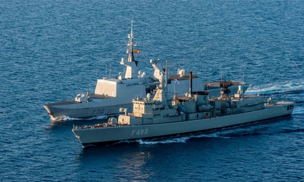 Cooperation of the Hellenic Navy with French Navy units