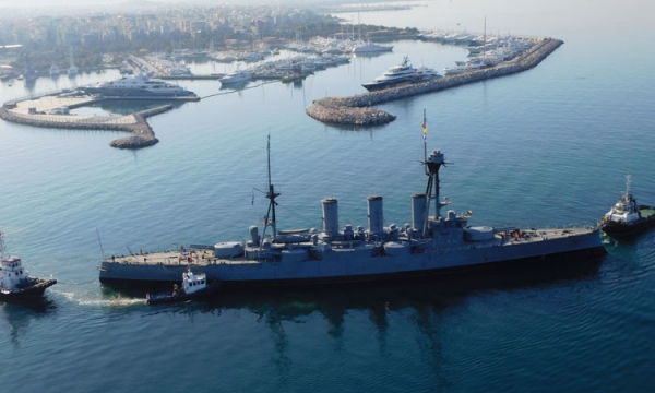 "Maintenance of the historical Battle Cruiser ""Georgios Averof"""