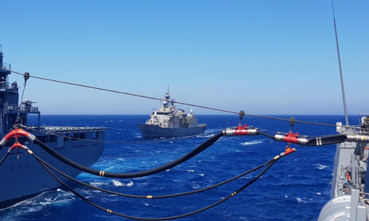 Co-training of Greek Navy Units - SNMG2