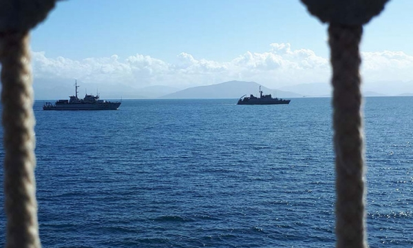 Passing Exercise of Hellenic Navy Units and SNMCG 2
