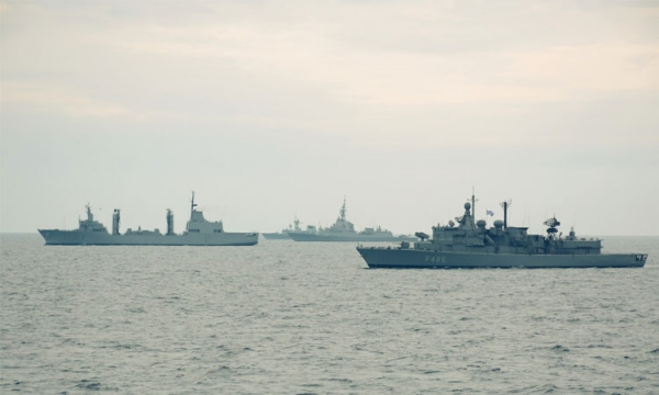 Cooperation of the Hellenic Navy with SNMG2