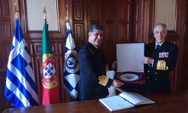 Official Visit of the HNGS Chief to Portugal