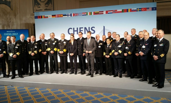 Chiefs of European Navies meeting CHENS 2017
