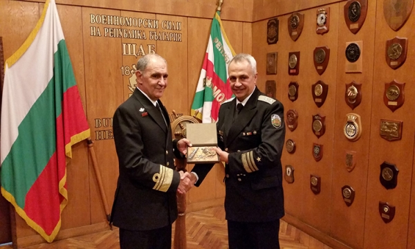 Official Visit of the HNGS Chief to Bulgaria