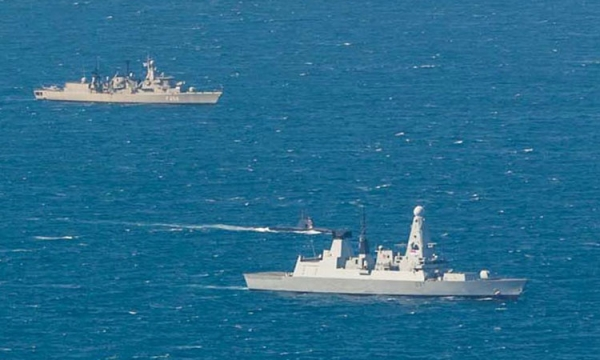 "Participation of the Hellenic Navy in the NATO's advanced Anti-Submarine Warfare Exercise ""DYNAMIC MANTA 18"""